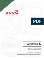 Katalog wystawy 1. WBZ