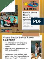 Election Service Reform Presentation_TDC