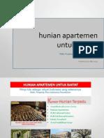 Konsep Apartemen Rakyat - Property Plus