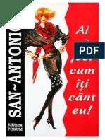 San Antonio - Ai Sa Joci Cum Iti Cant Eu