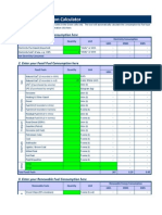 Energy Consumption Calculation Tool
