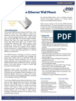 Av200 Powerline Ethernet Wall Mount Datasheet-Eng