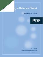 Fme Balance Sheet