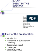Supply Chain Management in the Dairy Business