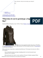 Fashion Incubator » Blog Archive » What Does It Cost to Prototype a Bag or Clothing Line