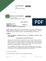 PLAN DE TRABAJO DE CALCULO DE UNDECIMO.doc