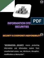 Management Information System Security