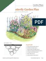 Bird Butterfly Garden Plan