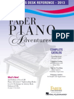 Piano Adventures Catalog