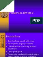 Patogenesis DM Tipe 2