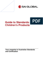 Guide to Standards-childrens Products