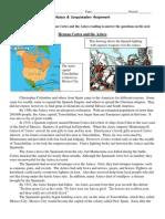 Aztecs & Conquistadors Assignment