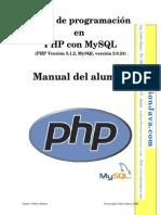 Manual de Programacion Con PHP y MySQL