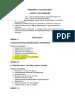 MATEMÁTICAS  GRADO NOVENO.docx