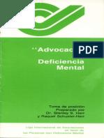 Herr, S. y R. Schuster-Herr (1986) Advocacy y Deficiencia Mental.pdf