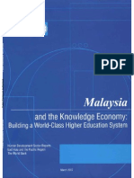 Malaysia & the Knowledge Economy