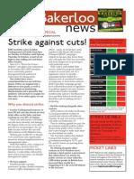 Bakerloo News (October 2014 - Strike Special)