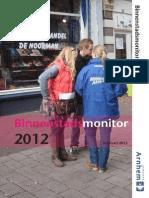 Arnhem binnenstadsmonitor 2012
