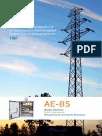 Messa 110 kv disconector E-180 - Motor Mechanisms AE 85