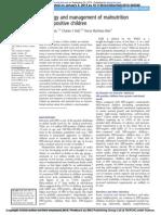 Etiology Malnutrisi HIV