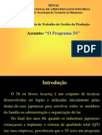 programa 5 S SENAI.ppt
