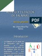 TILDACIÓN DE PALABRAS.ppt