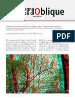 La rassegna stampa di Oblique di settembre 2014