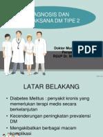 Diagnosis dan penatalaksanaan Diabetes Melitus tipe 2