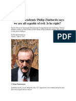 Zimbardo Article Notes
