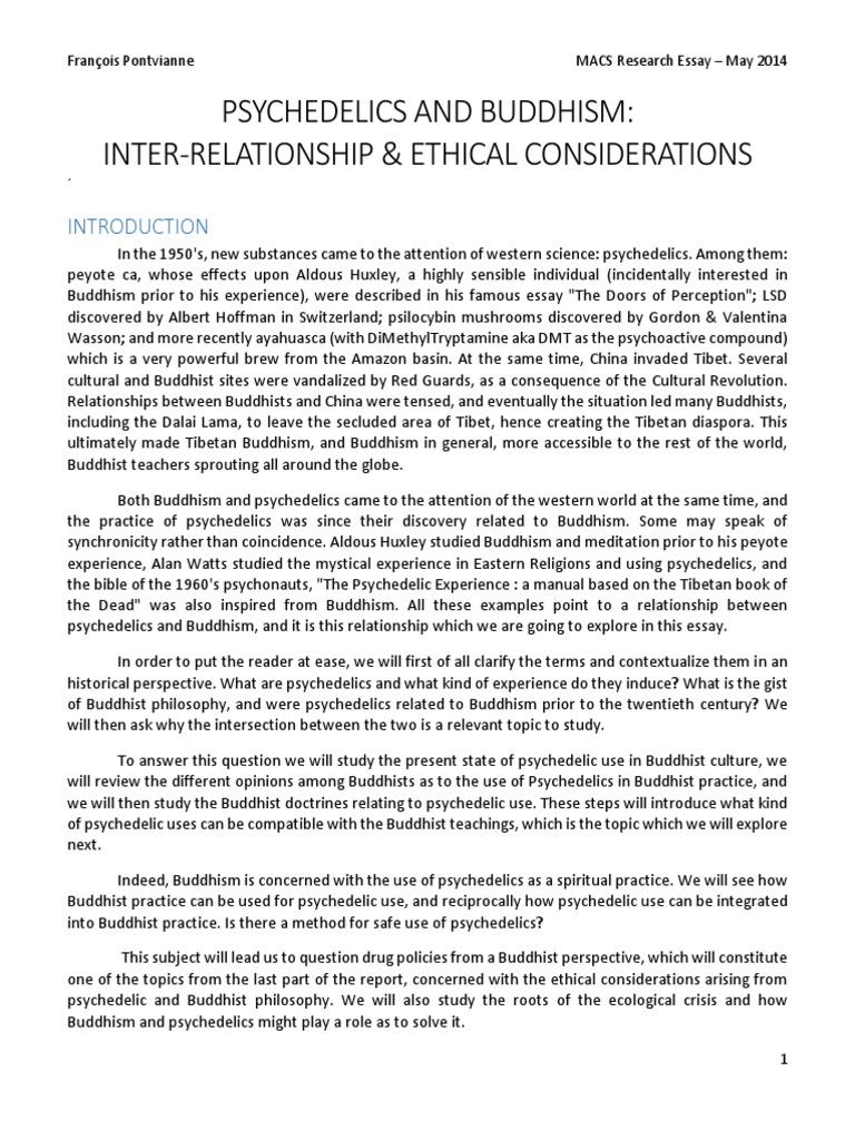 Buddhism huston smith essay paper critical thinking class