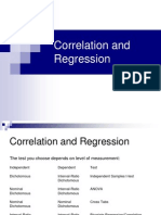 Lecture 7 Regression and Correlation