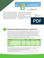 Regio Holland Rijnland bedrijventerreinen 2012