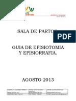 guia de episiotomia y episiorrafia 2013.pdf