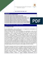 Interdisciplinar Doc Area e Comissão Block