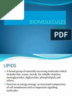 Biomolecules Lipid
