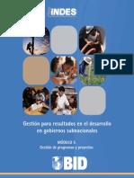 Gestión de Programas y Proyectos - Modulo 5
