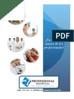Professional Hospital Catalog (Spanish)