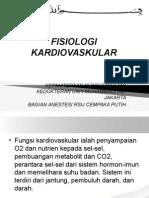 Mekanisme KardioRespirasi Dr. Mala i (Anestesi)