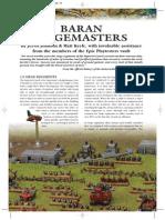 Baran Sieg Master Army List Epic Armageddon