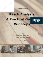 0.1 Rasch Workshop Booklet Structure of Measurement