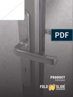 Fold N Slide Hardware Brochure