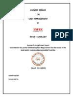 summer training in Intex Technology