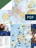 Eurail Railway Map 2014