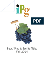 IPG Fall 2014 Beer, Wine & Spirits Titles