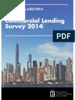 2014 Commercial Real Estate Lending Survey