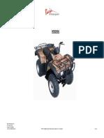 Baja Parts Catalog WD250U ATV VIN Prefix LAPS
