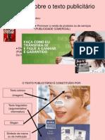 O texto publicitário_síntese.ppt