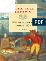 Let Sleeping Dogs Lie by Rita Mae Brown, excerpt