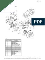 Front Brake Description and Operation