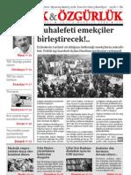 Ekmek Ve Ozgurluk - Aylik Siyasi Dergi - Aralik 2009 Sayi 4